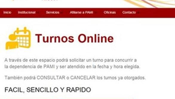 Los afiliados de pami pueden sacar turnos por la web canal 8 tucuman - Cambiar de medico de cabecera por internet ...