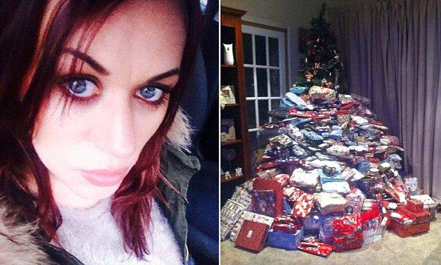 Compr 300 regalos de Navidad para sus hijos lo comparti en