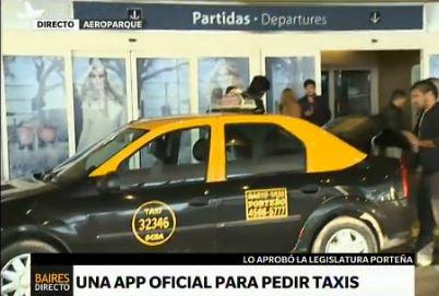 """Lanzan en octubre la app oficial """"Taxi BA"""""""