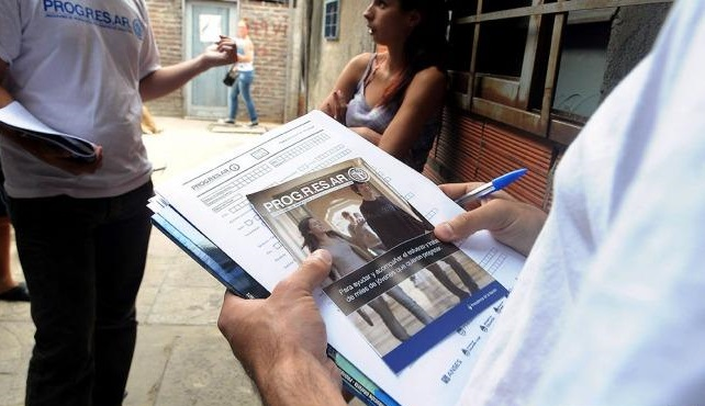 """Jóvenes de la agrupación """"27 de oktubre"""" criticaron el ajuste en el programa Progresar"""