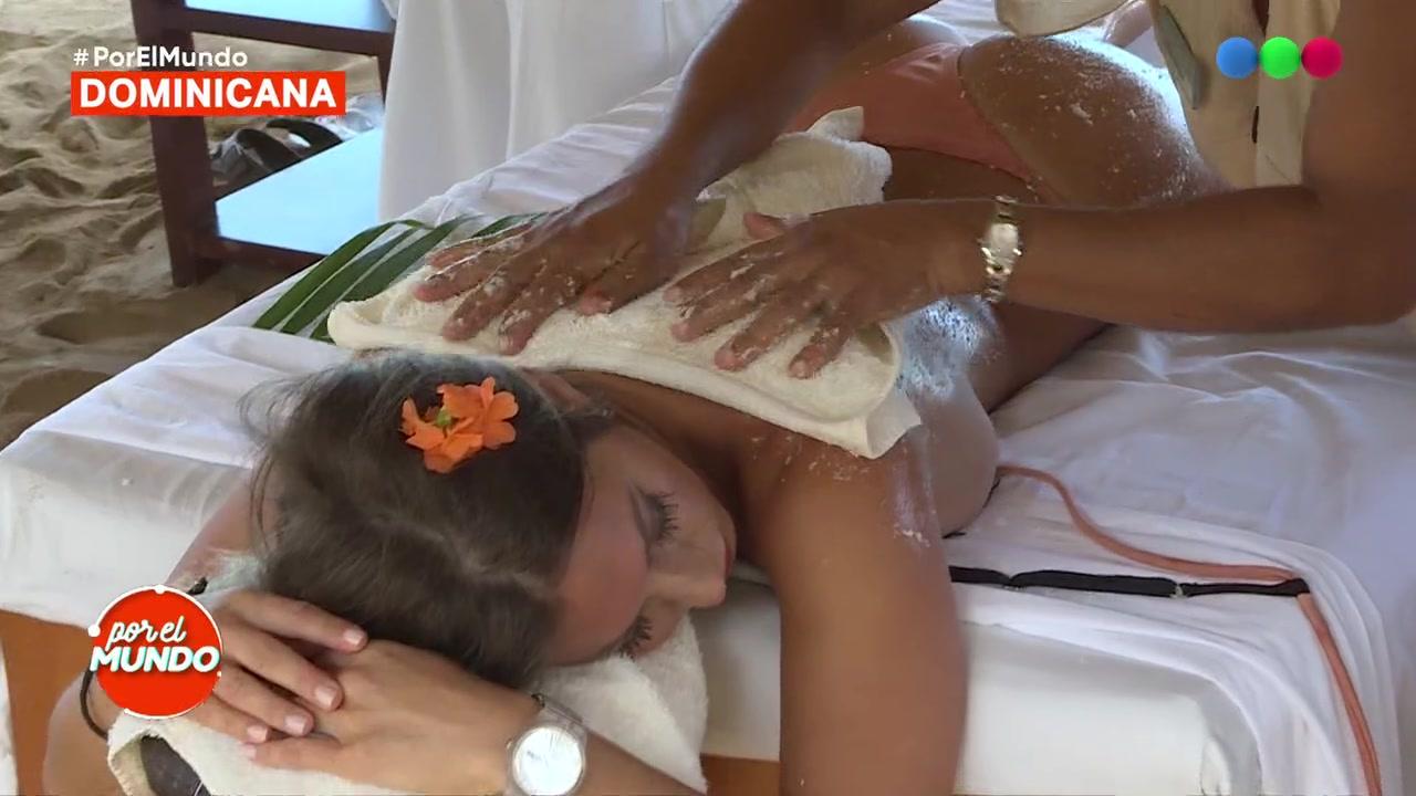 Actriz Porno Lazos Tatuaje el erótico masaje que recibió noelia marzol! - por el mundo